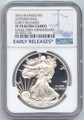 2016-W Proof American Silver Eagle, NGC PF-70 Ultra Cameo, Early Release Label