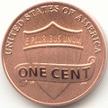 2017 S Lincoln Memorial Enhanced Uncirculated Cent Uncirculated