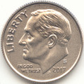2017 S Roosevelt Enhanced Uncirculated Dime Uncirculated