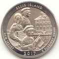 2017 S Washington Enhanced Uncirculated Ellis Island Statue of Liberty National Monument (New Jersey) Quarter Uncirculated