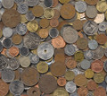 World Assortment, 5 Pounds of Foreign Coins, 1800-2000