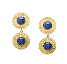 SOLEIL EARRINGS - LAPIS