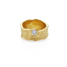 NIRVANA CYRSTAL RING - GOLD