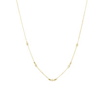 ENLIGHTEN SHORT NECKLACE - GOLD
