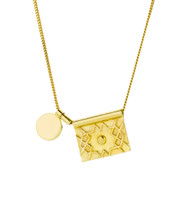 MOROCCAN MEDINA RECTANGLE NECKLACE