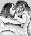 Jesus & Child (452) Sarah