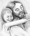 Jesus & Child (462) Joy For the Moment