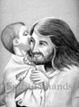 Jesus & Child (521) A Gift For Jesus