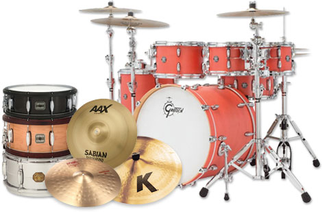 Drum Sets and Cymbals