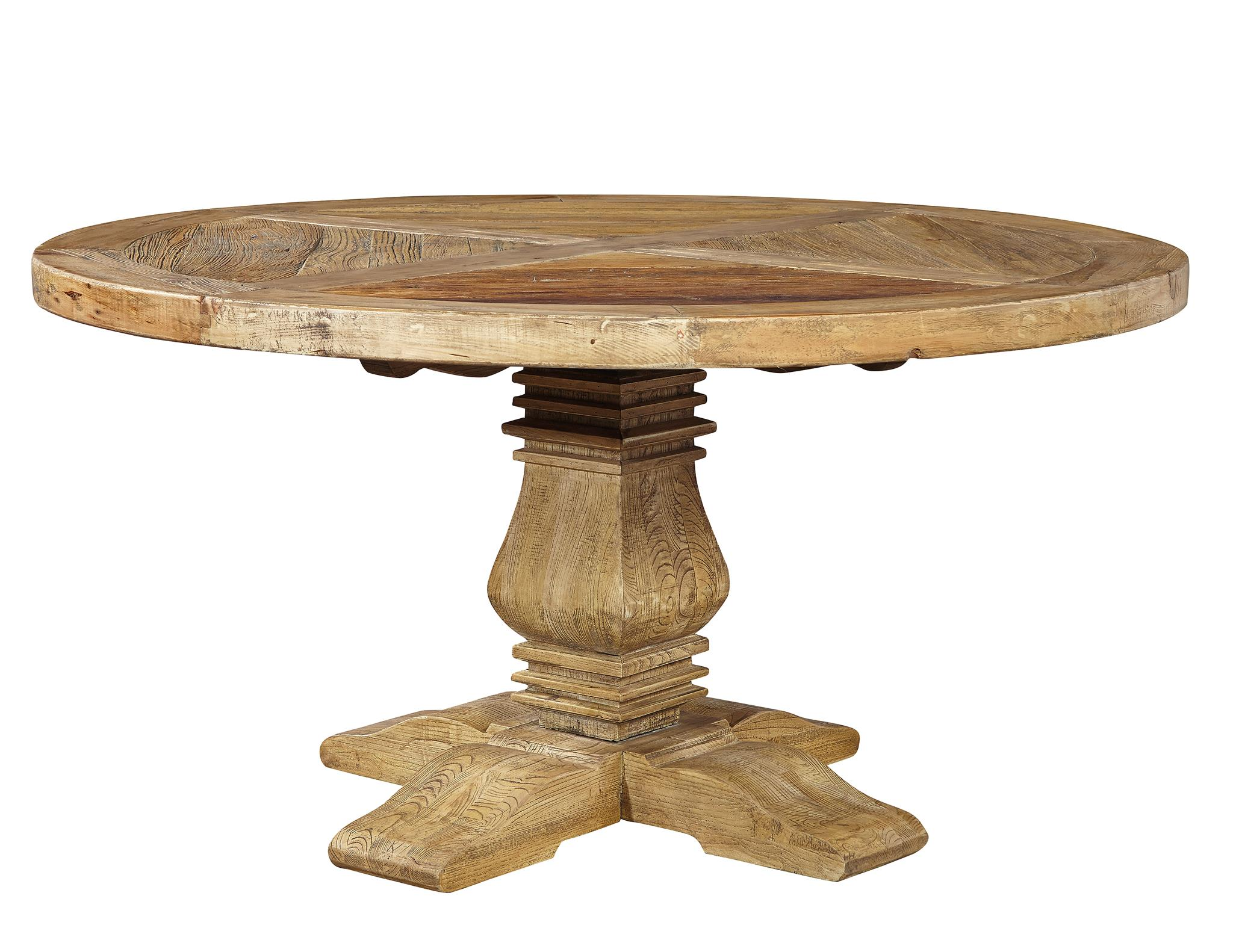 Beautifully Distressed 60 Round Dining Table Free Shipping