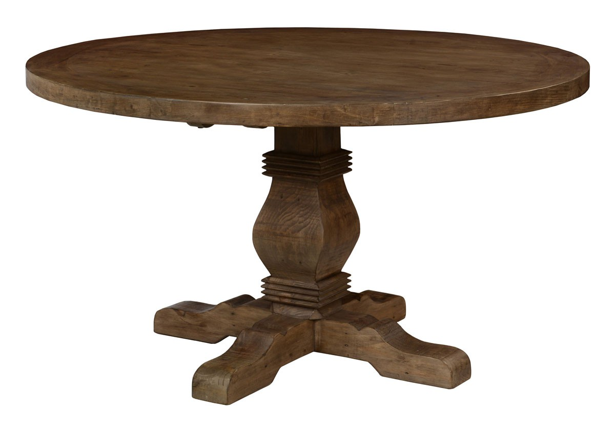 Related Reclaimed Wood Round Dining Table Pictures to pin on Pinterest