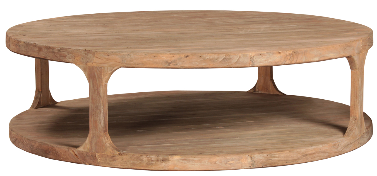 Round Reclaimed Wood Coffee Table Coffetable - D2446-l.jpg?t=1441125460