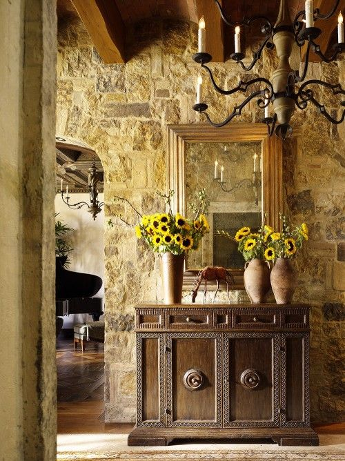 The Homes We Feature In These Images Share A Passion For Simple Warmth That  Radiates From The Tuscan Region And An Appreciation For Architectural  Features ...