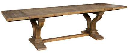 "110"" Extension Trestle Dining Table"