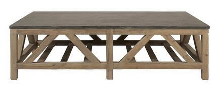 Blue Stone Coffee Table Extra Large 63""