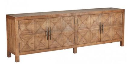 Extra Long Sideboard Buffet Reclaimed Wood