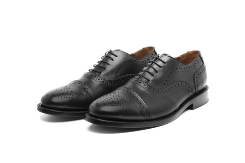 BLACK BOX CALF BENNINGTON OXFORD