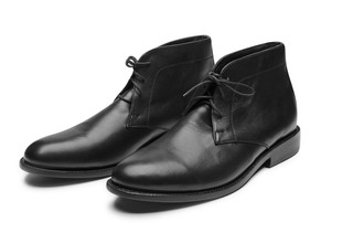 HARLOW BLACK BOX CALF  BOOT