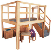 Deluxe School Age Navigator 2000 loft (Preschool shown, other furniture not included) 1