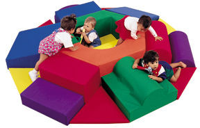 Children's Factory Baby Nuts and Bolts Soft Play Climber 1