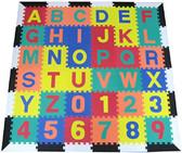 Alphabet Learning Mat White and Black Border 1