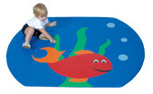 Children's Factory Fish Boal Soft Activity Mat 1