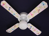 "Disney Princesses -Dancing Ceiling Fan 42"" 1"