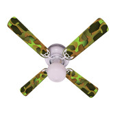 "Crazy Camo Ceiling Fan 42"" 1"
