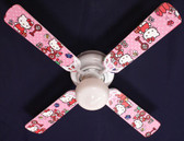 "Hello Kitty Sweet Dreams Ceiling Fan 42"" 1"