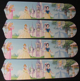 "Disney Princesses - Castle Ceiling Fan 42"" Blades Only 1"