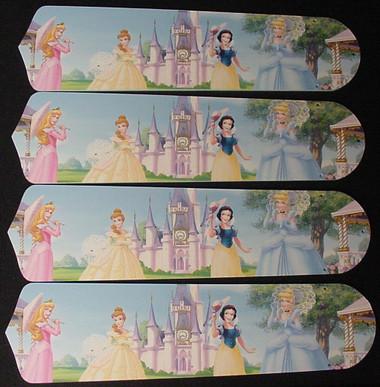 """Disney Princesses - Castle Ceiling Fan 42"""" Blades Only 1"""