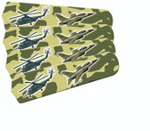 """Freedom Camo Military Ceiling Fan 42"""" Blades Only 1"""