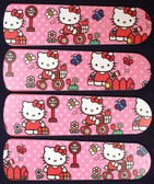 "Hello Kitty Sweet Dreams Ceiling Fan 42"" Blades Only 1"