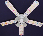 "Disney Princesses -Dancing Ceiling Fan 52"" 1"