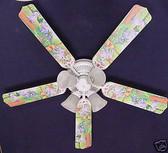 """Winnie Pooh Heffalump Lumpy Eeyore Ceiling Fan 52"""" 1"""