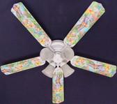 """Winnie Pooh Piglet Eeyore Tigger Ceiling Fan 52"""" 1"""