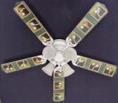 "Golf Clubs Golfers Ceiling Fan 52"" 1"