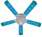 "Kids DragoNFLies & Fireflies Ceiling Fan 52"" 1"