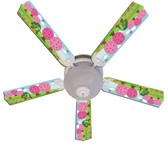 "Kids Happy Traveler Turtle Ceiling Fan 52"" 1"
