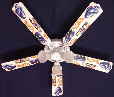 """Hot Wheels Ceiling Fan 52"""""""