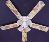 "Fire Trucks Ceiling Fan 52"" 1"