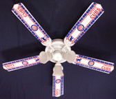 "MLB Chicago Cubs Baseball Ceiling Fan 52"" 1"