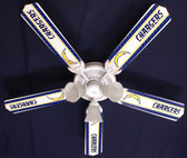 "NFL San Diego Chargers Football Ceiling Fan 52"" 1"