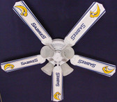 "NHL Buffalo Sabres Hockey Ceiling Fan 52"" 1"