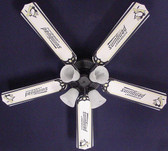 "NHL Pittsburgh Penguins Hockey Ceiling Fan 52"" 1"
