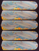 """Dolphins Dolphin 52"""" Ceiling Fan Blades Only 1"""