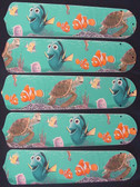 "Finding Nemo 52"" Ceiling Fan Blades Only 1"
