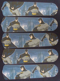"Batman Superhero 52"" Ceiling Fan Blades Only 1"