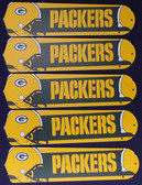 "NFL Green Bay Packers Football 52"" Ceiling Fan Blades Only"