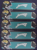 """NFL Jacksonville Jaguars Football 52"""" Ceiling Fan Blades Only 1"""